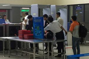 Camera an ninh sân bay Nội Bài
